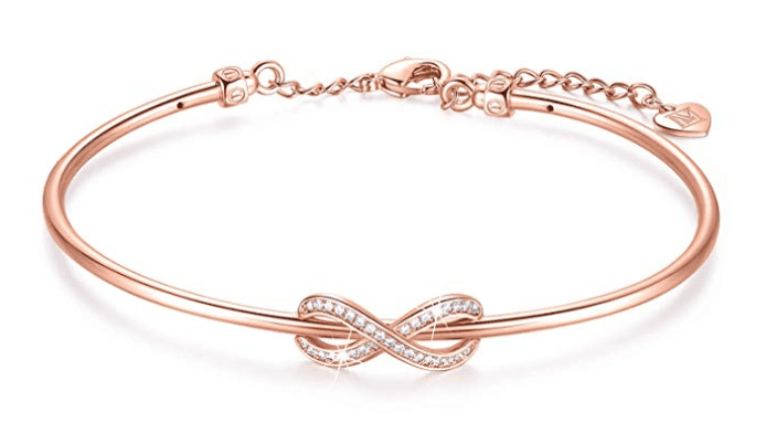 ninamaid infinity symbol bangle bracelets make the best gifts for mom