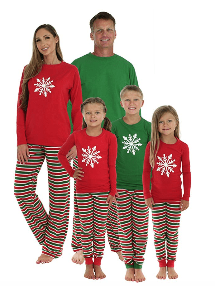 sleepytimepjs family matching christmas pajamas