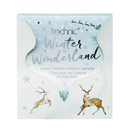 technic winter wonderland beauty advent calendars