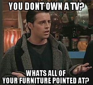 Watching TV before the internet