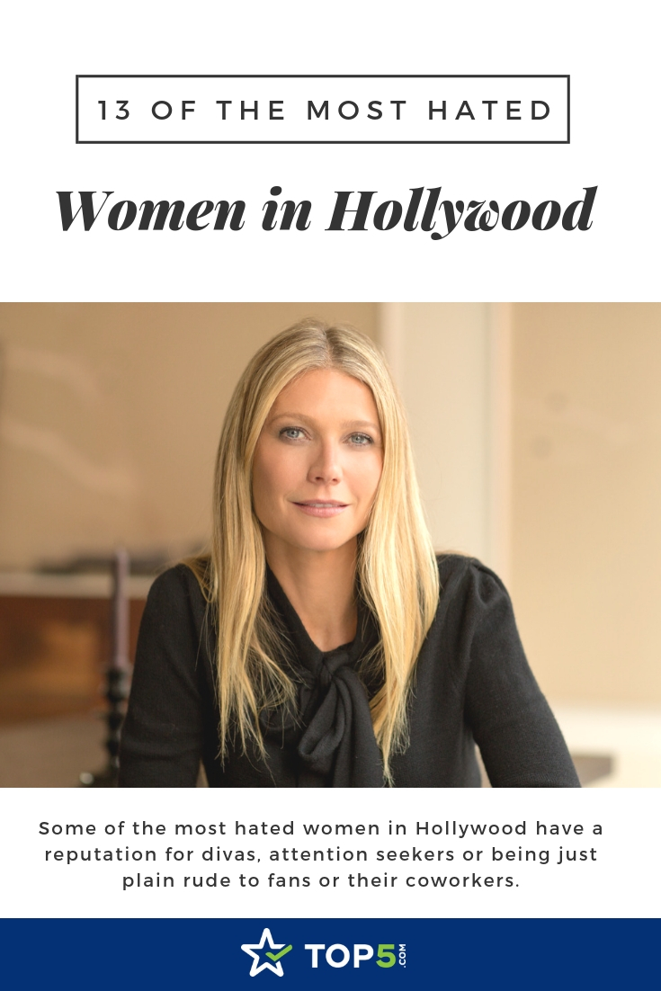 13 of the most hated women in hollywood