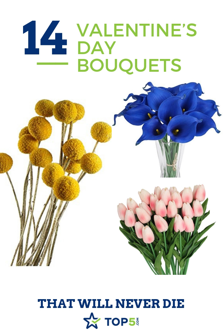 14 valentine's day bouquets that will never die