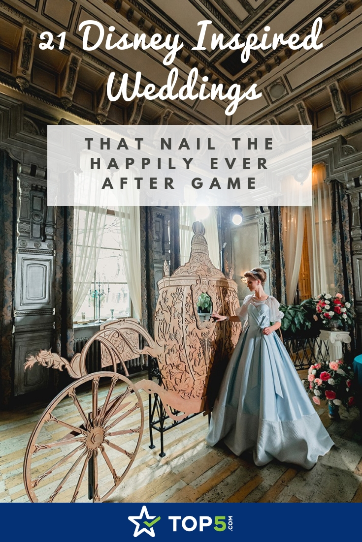 21 disney inspired weddings