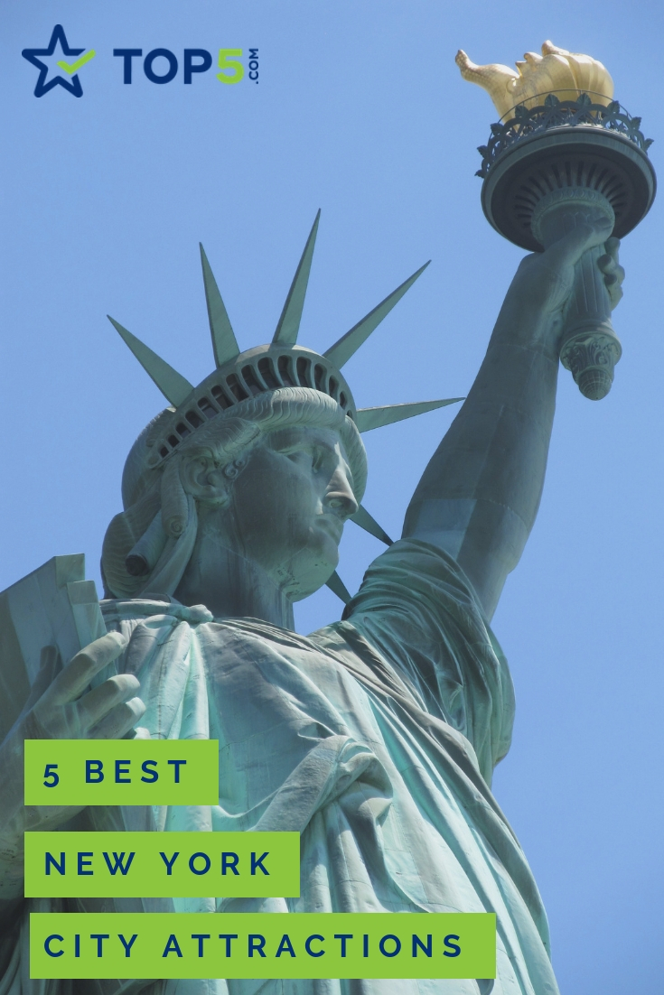 5 best new york city attractions