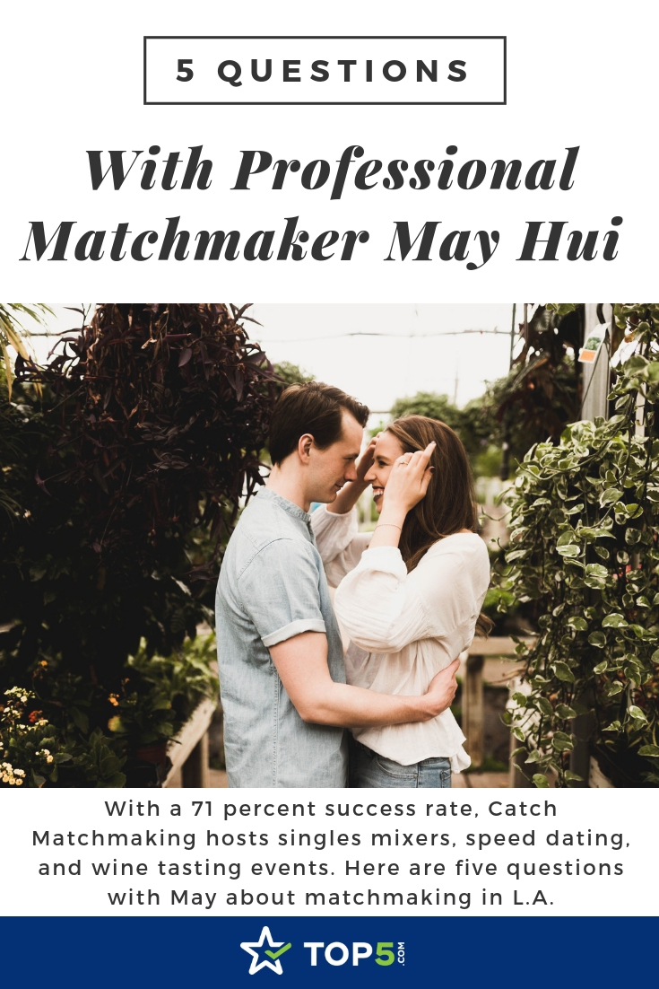 5 questions with professional matchmaker may hui