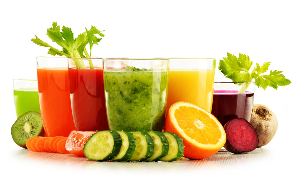 Try a juice cleanse as part of your new years resolutions