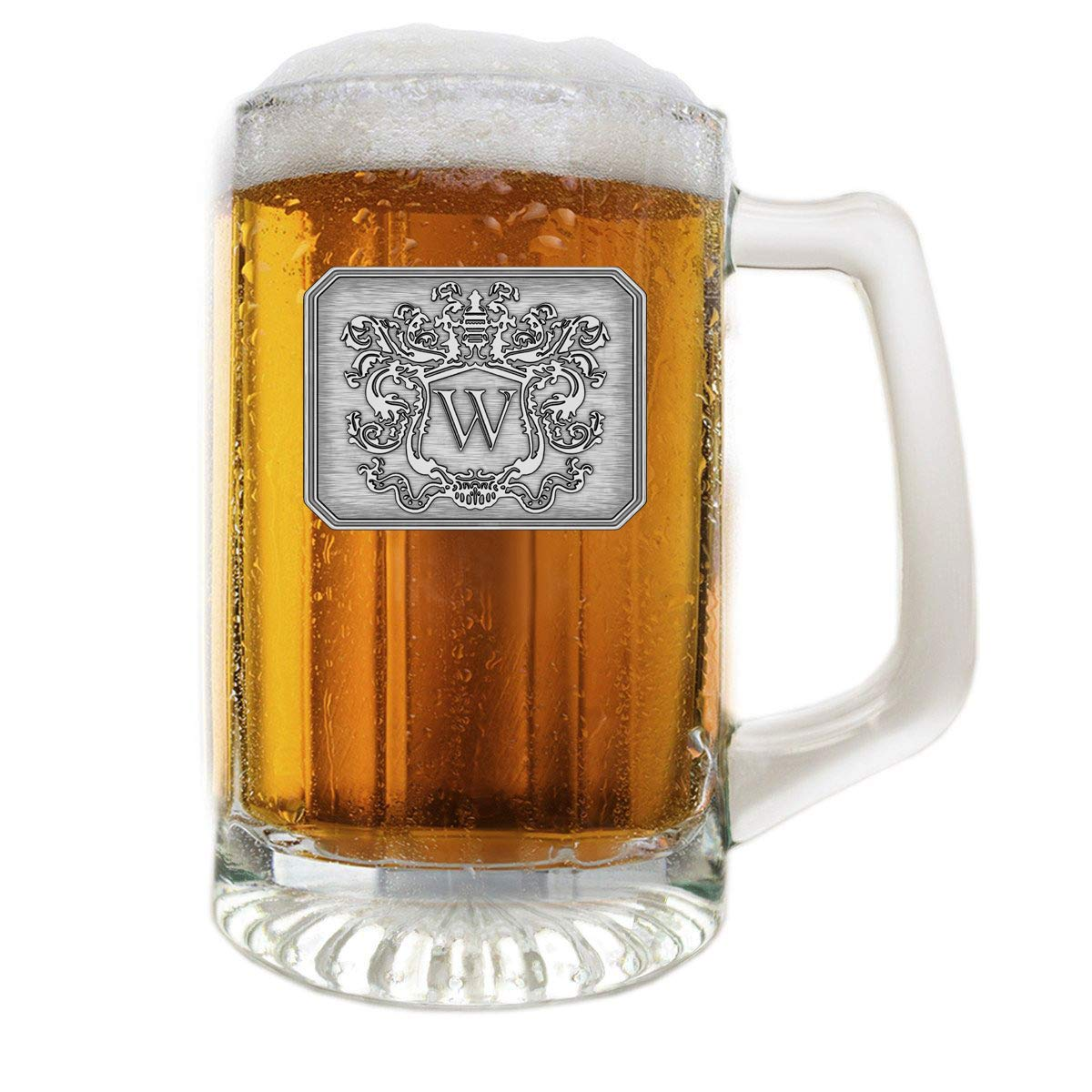 beer mug with personalized monogram