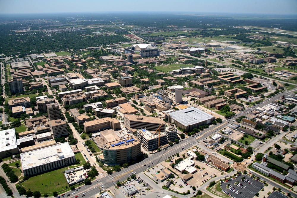 best college towns college station texas