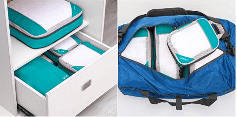 how to use packing cubes in four simple steps