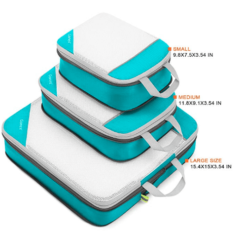 Gonex make the best packing cubes for compression