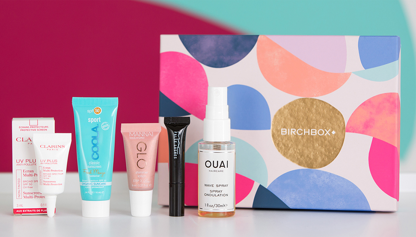 Contents of Birchbox May 2017