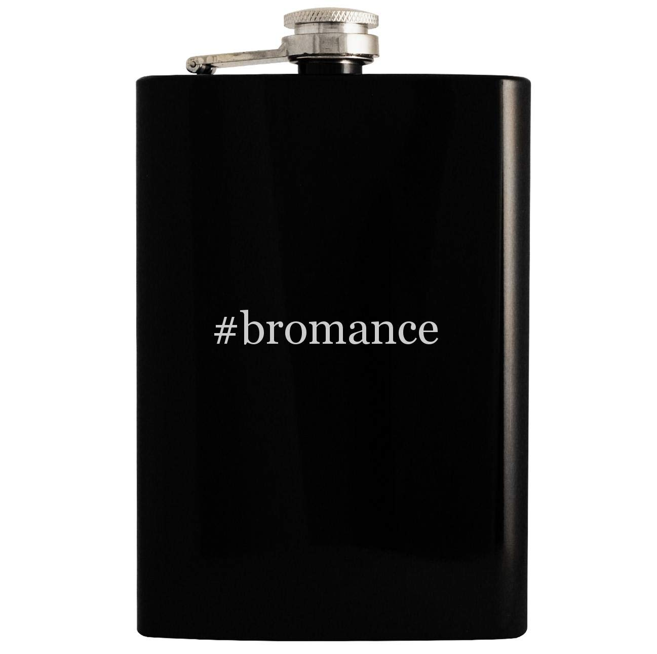 #bromance black hip drinking flask