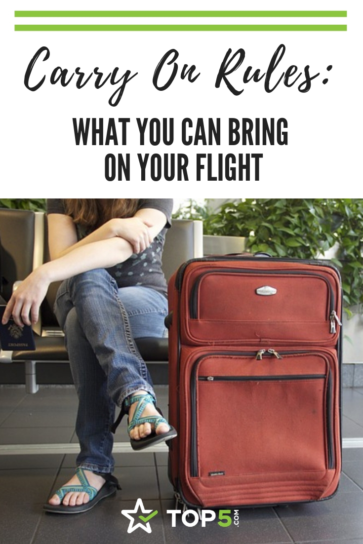 carry on rules, what you can bring on your flight