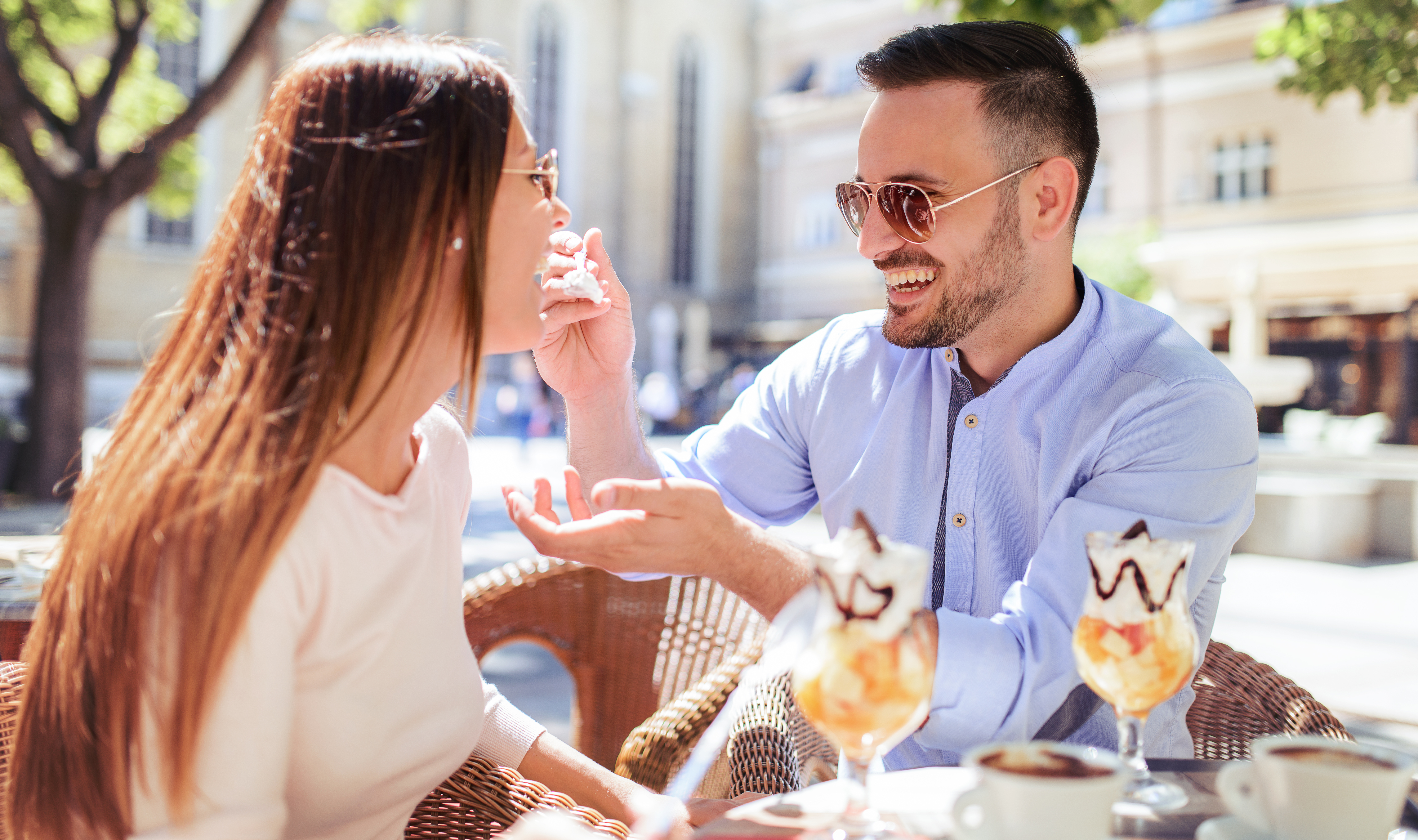 couple on a date; eHarmony review