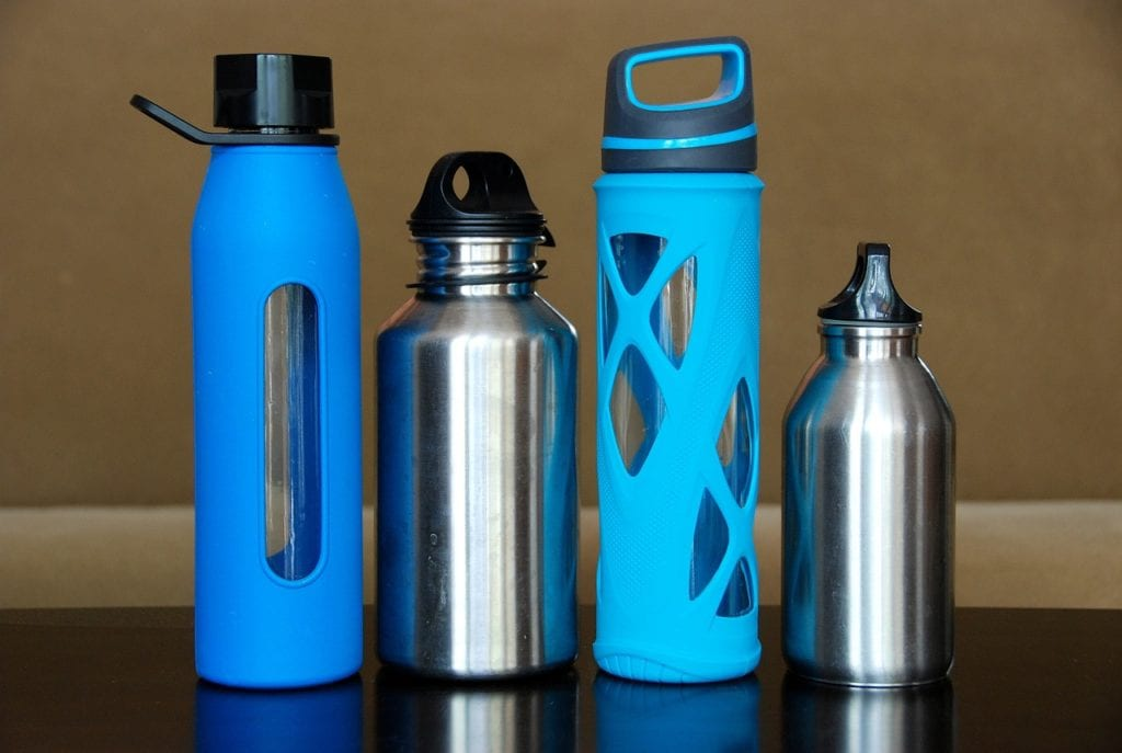 different types of insulated water bottles
