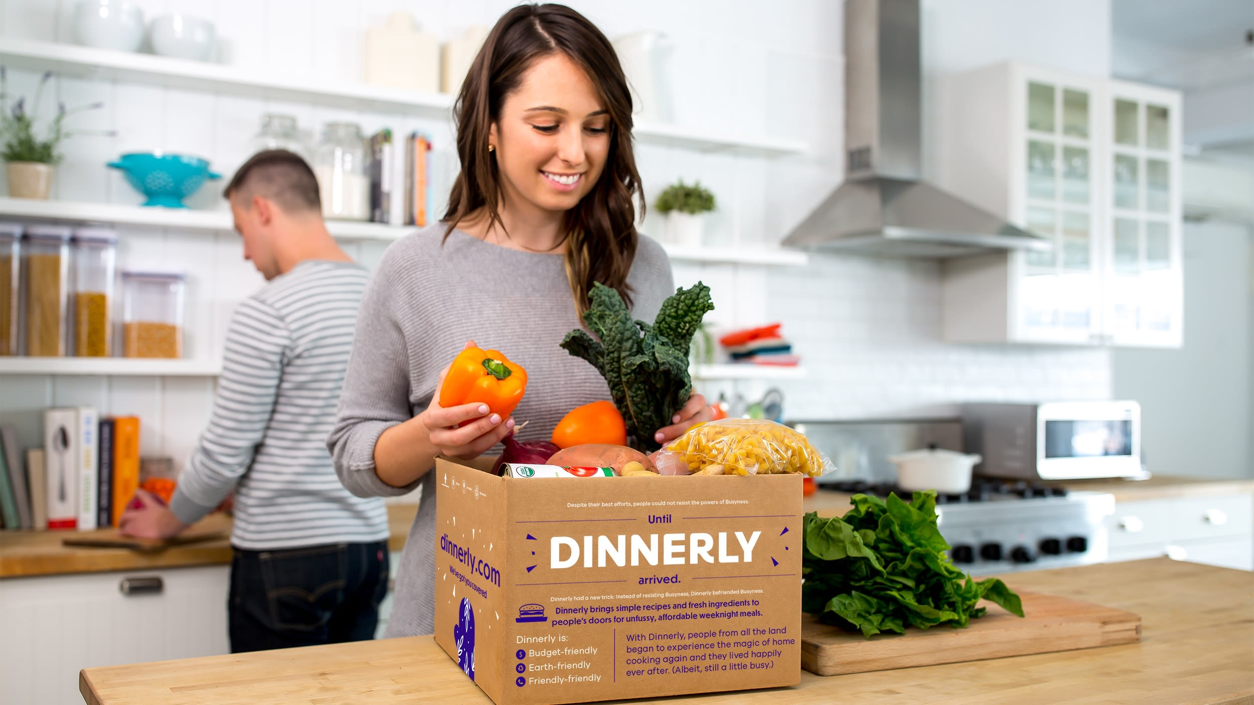 dinnerly meal kit delivery box