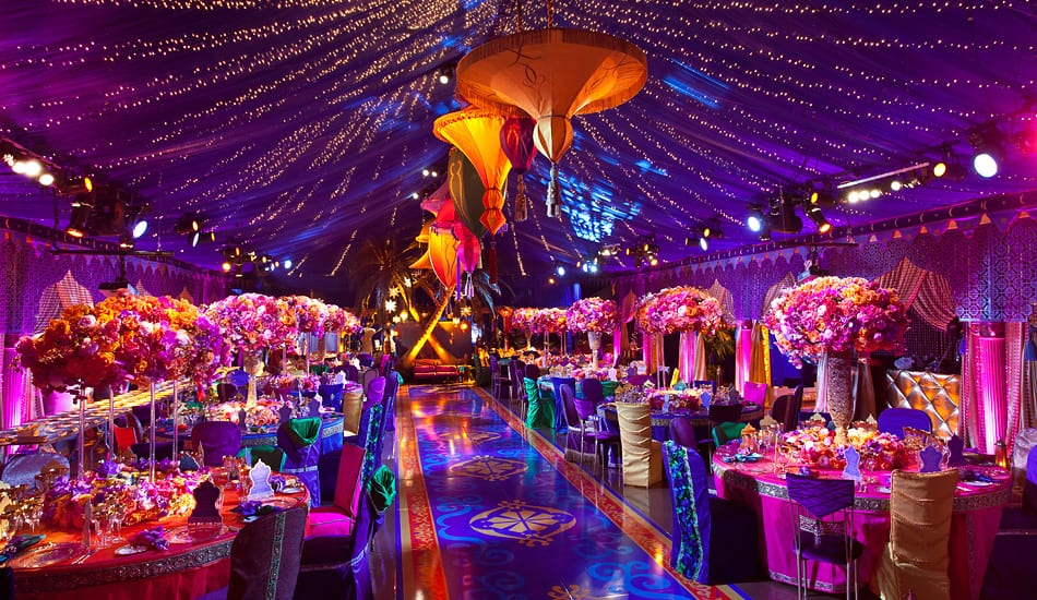 disney inspired weddings aladdin wedding