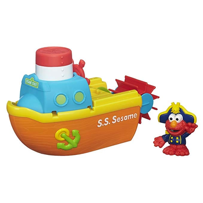 elmo toys sesame street steamboat adventure