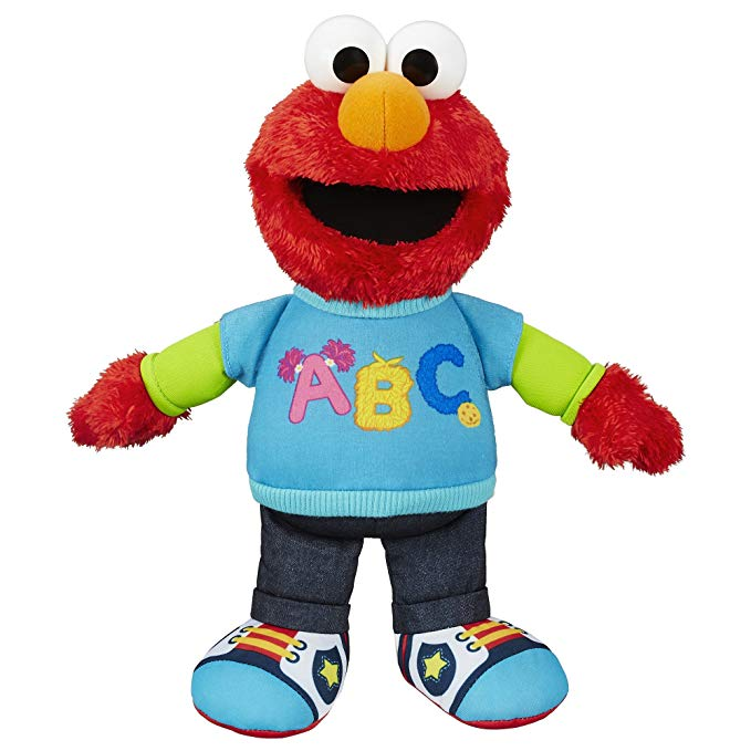 sesame street talking elmo figurine