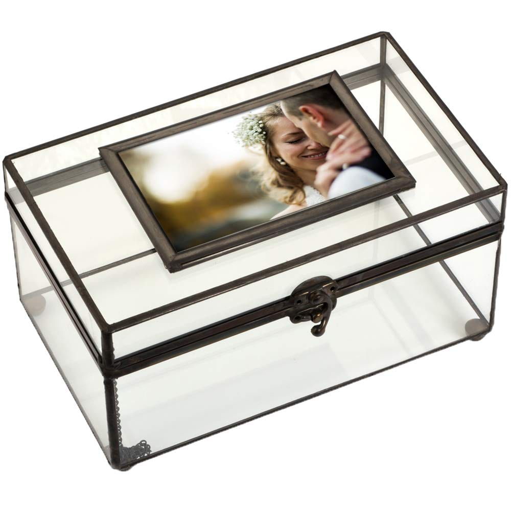 glass keepsakes display box