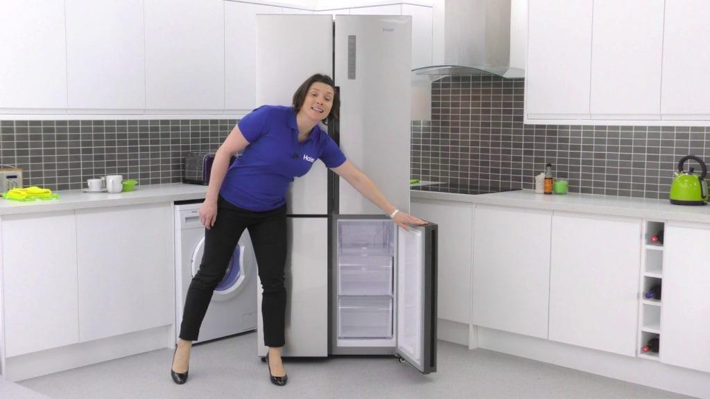 haier quad door refrigerator