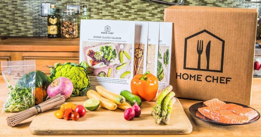 home chef meal delivery box