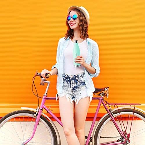 honeyholly girl on bike