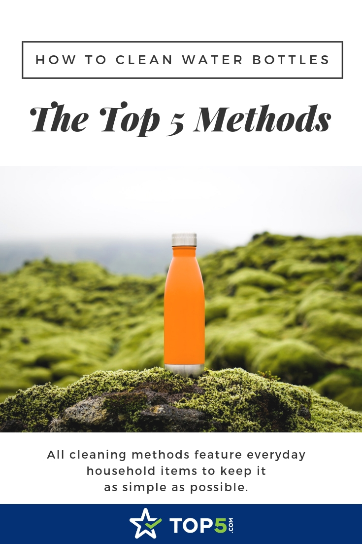 how to clean water bottles the top 5 methods