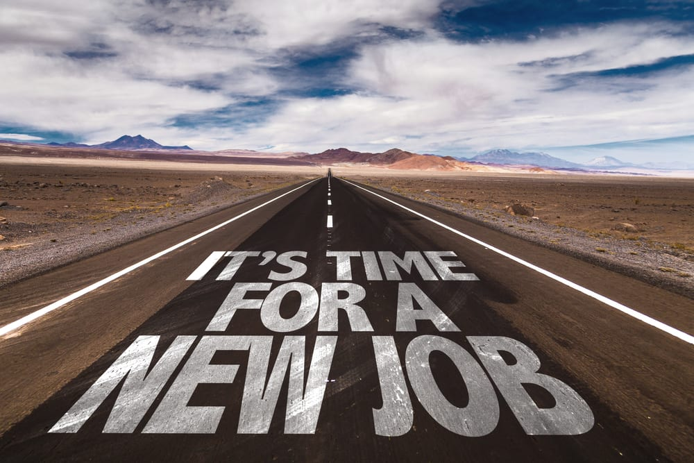 its time for a new job start your new years resolution today