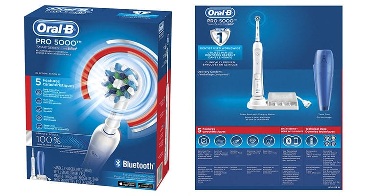 Oral B toothbrush review