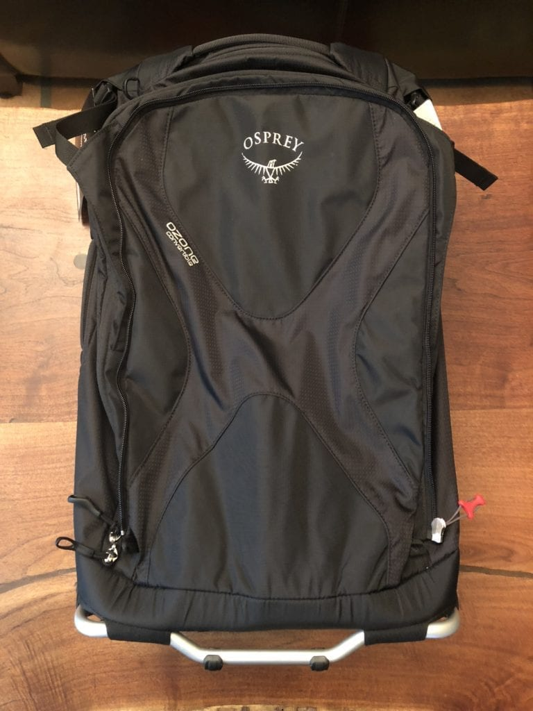 osprey ozone convertible main bag front
