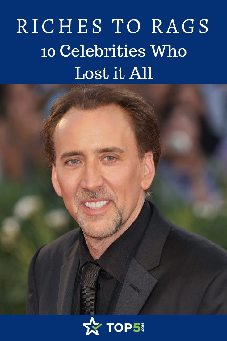riches to rags – 10 celebrities who lost it all