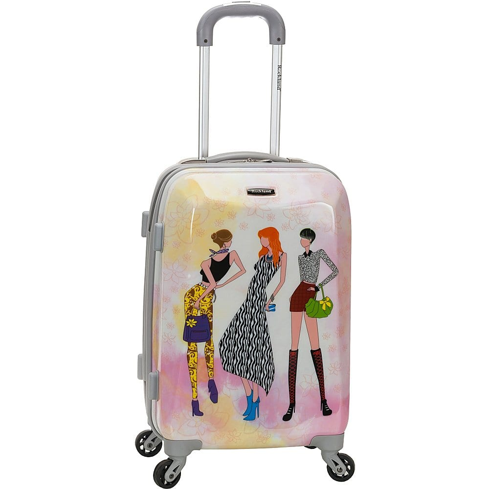 rockland 20 polycarbonate carry on