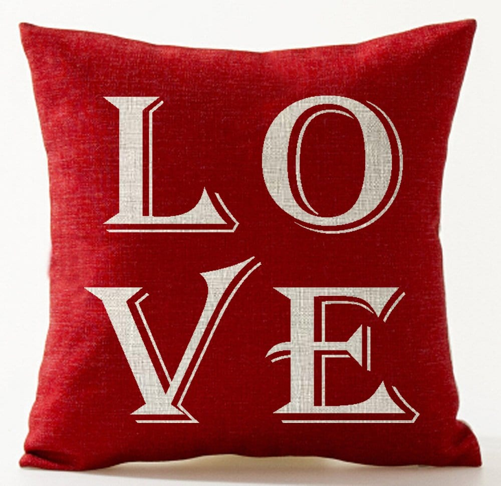 sweet love quotes throw pillow