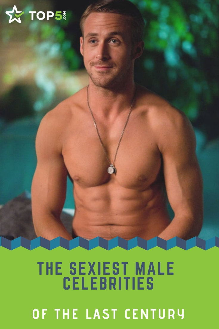 these are the sexiest male celebrities of the last century