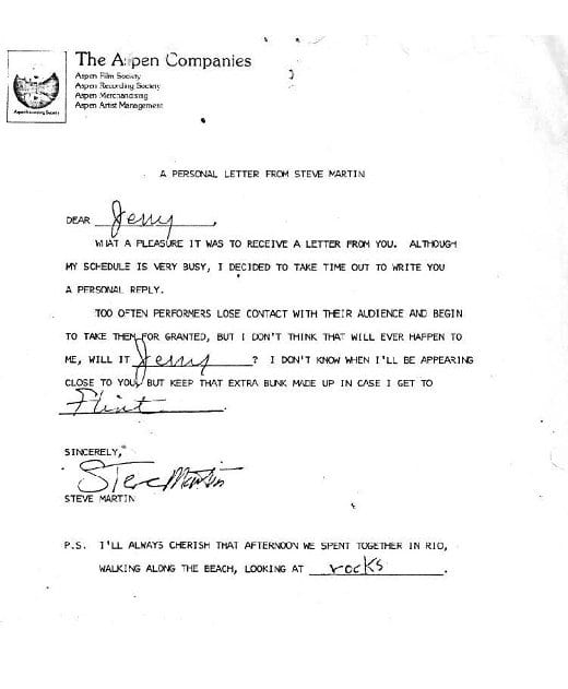 things before internet fan letters