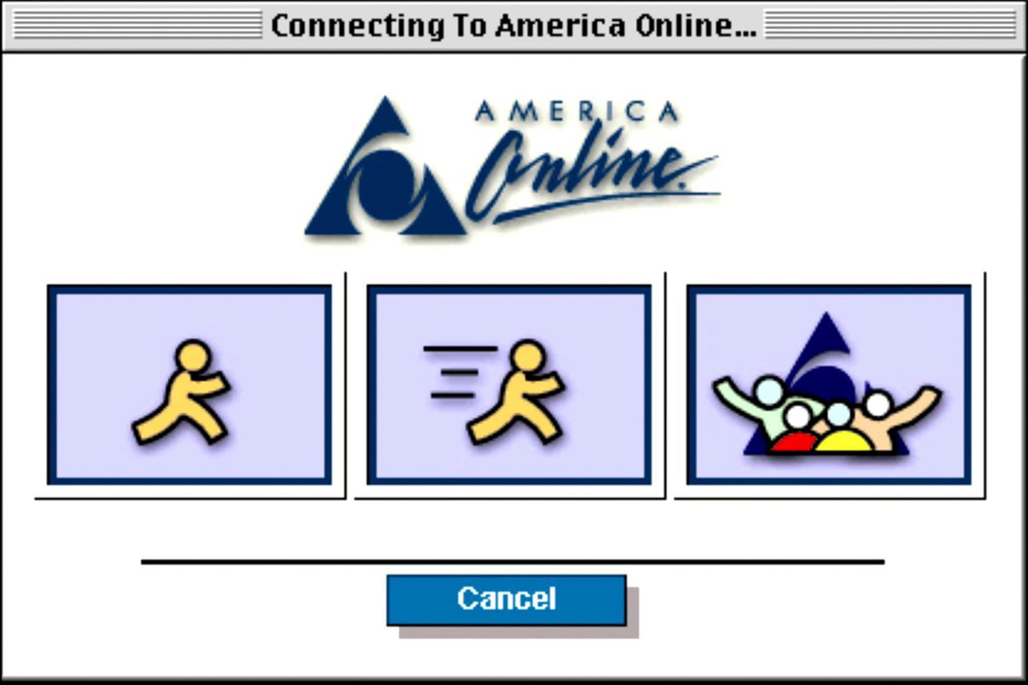 things before the internet aol