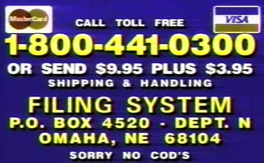 things before the internet commercials