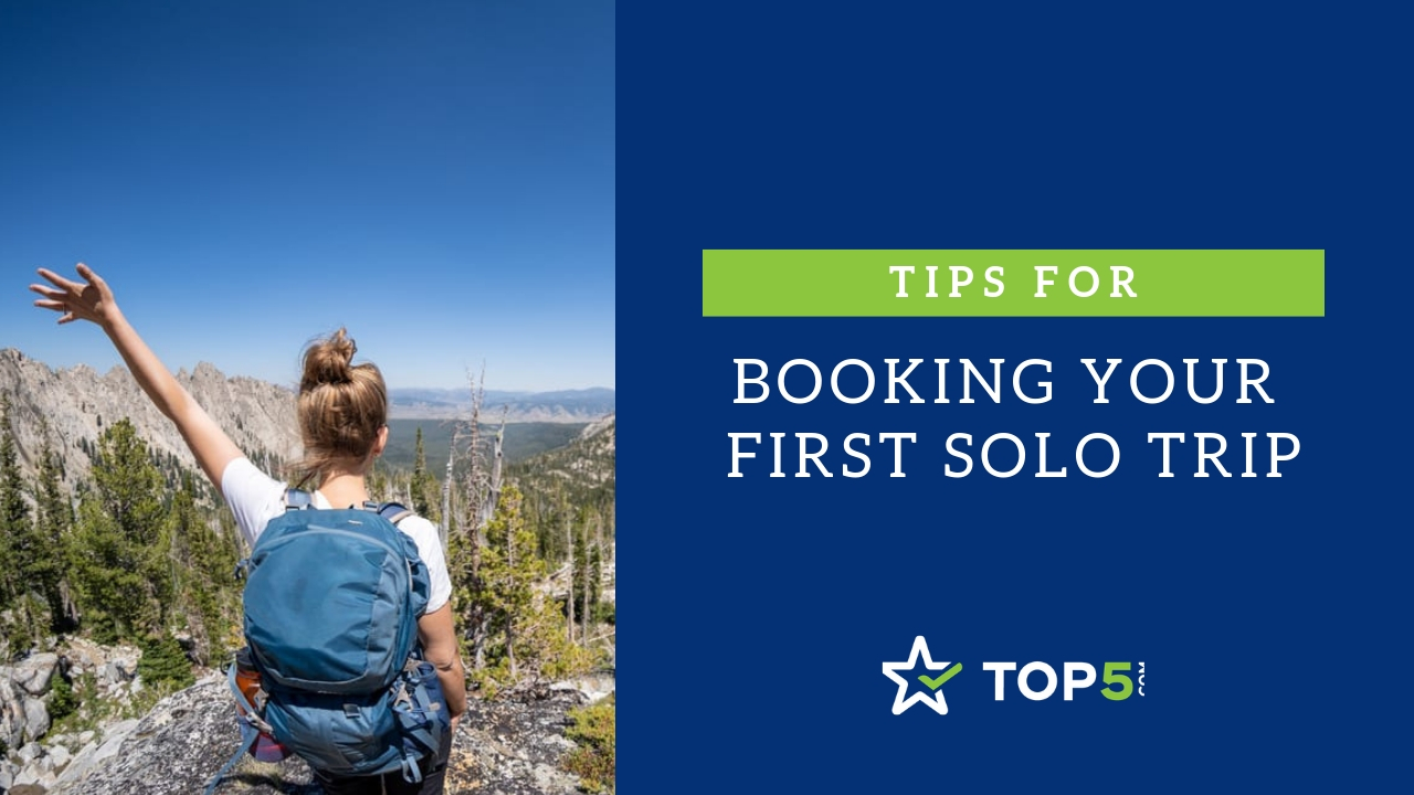 tips for booking your first solo trip