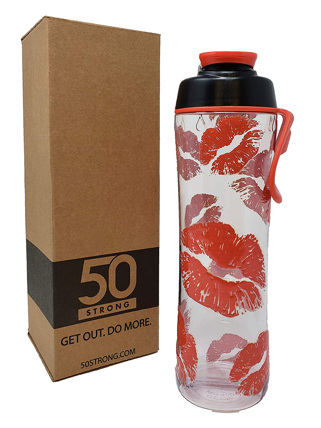BPA-free designer reusable water bottle