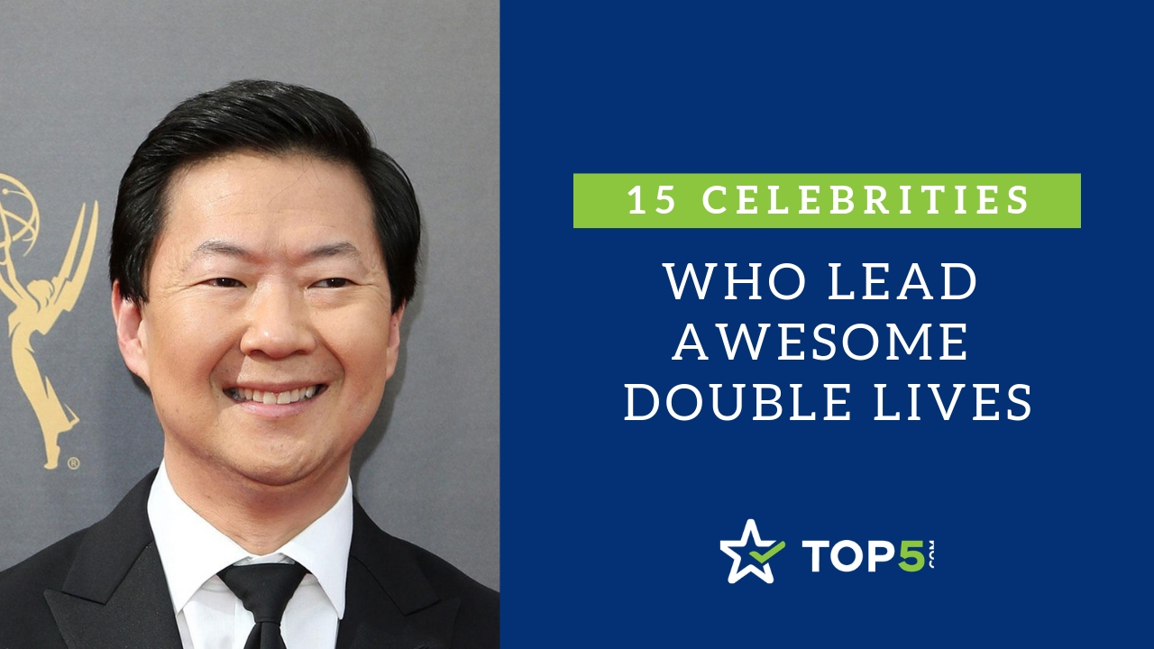 15 celebrities who lead awesome double lives