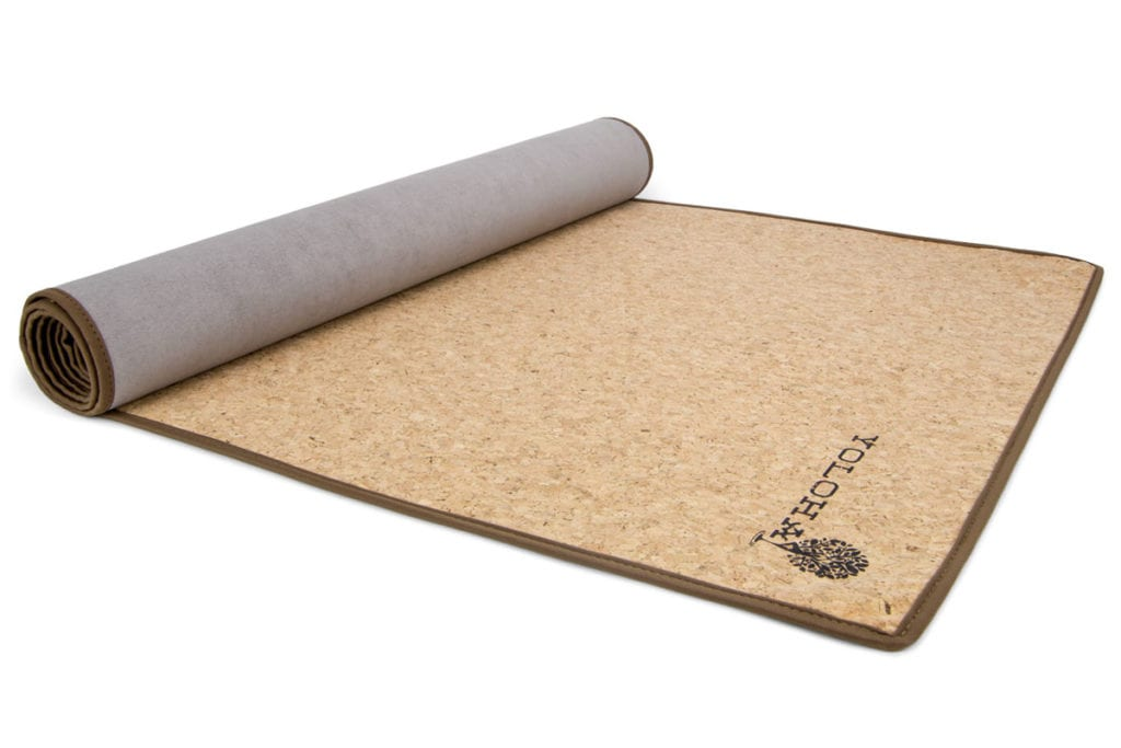 a yoloha cork mat yoga gift guide
