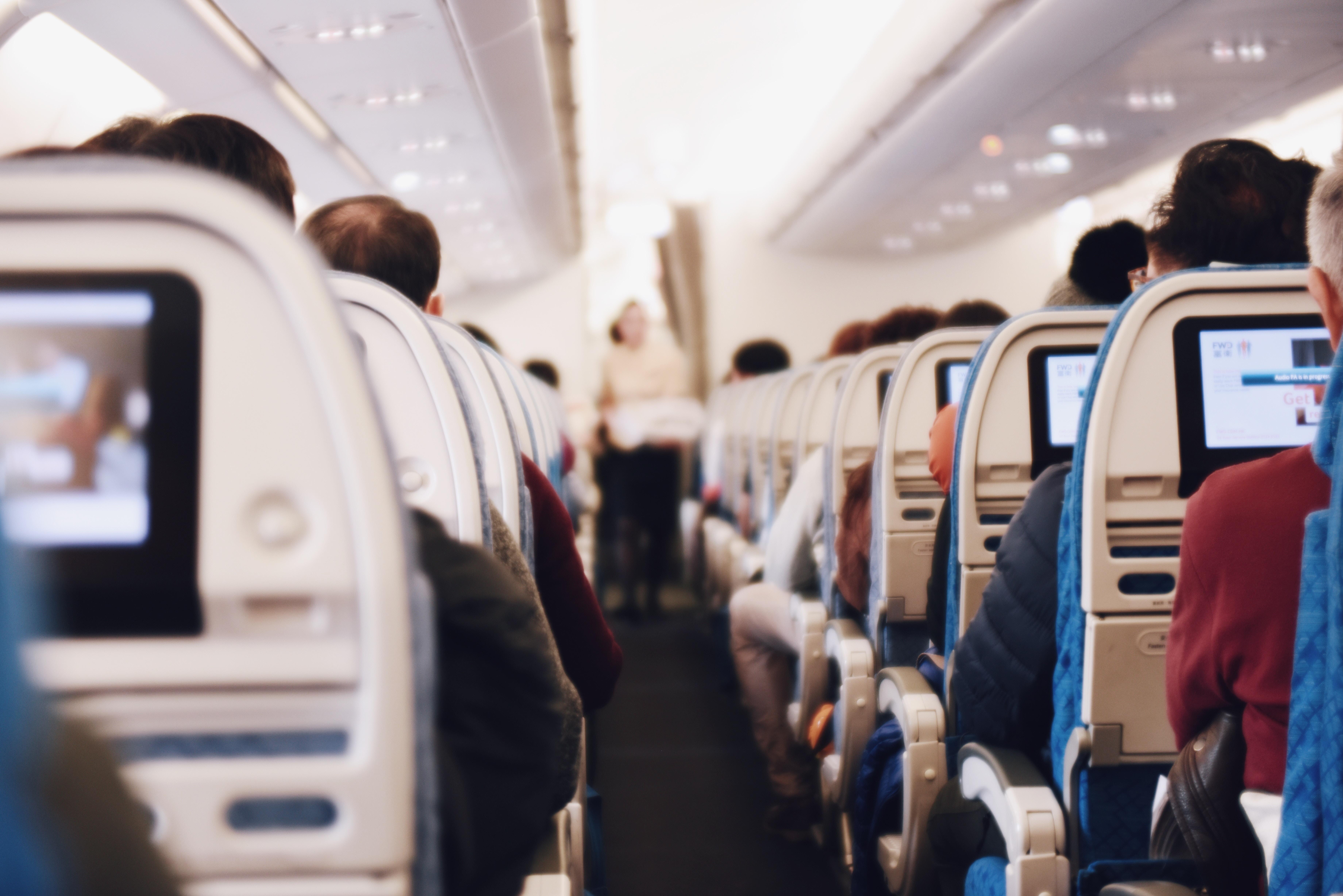 airplane interior cabin