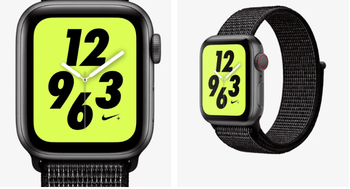 Apple + Nike watch
