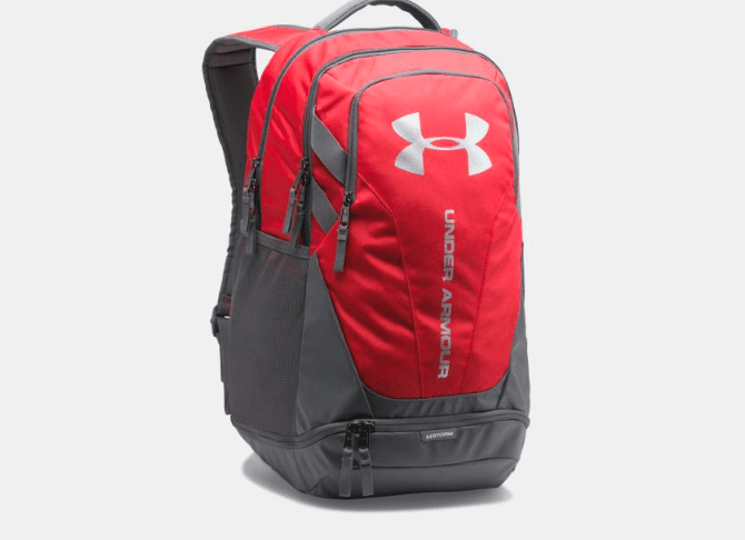 Red under armour backpack