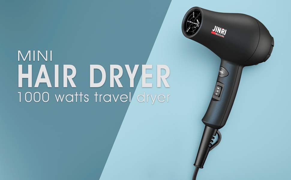 JINRI is one of the quietest hair dryers we've come across
