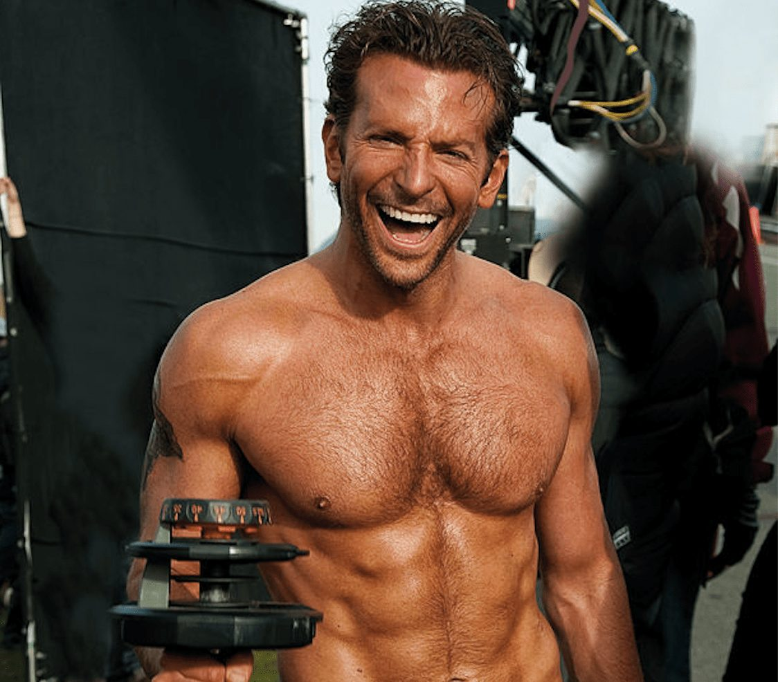 bradley cooper most fit celebrity men
