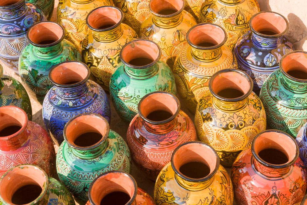 brazil's ruins ceramic jars