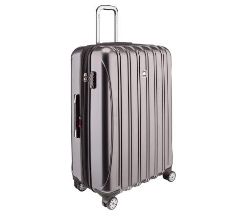 Delsey grey suitcase