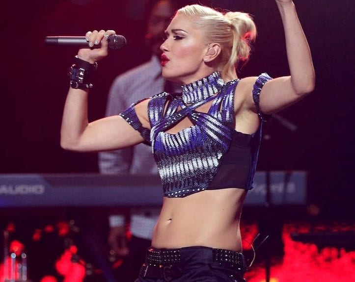 gwen stefani most fit celebrity women